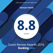 Vansari booking awards